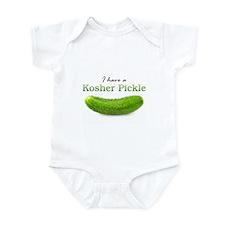 I have a Kosher Pickle Infant Bodysuit