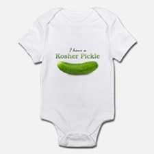 I have a Kosher Pickle Infant Bodysuit