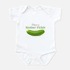 I have a Kosher Pickle Onesie