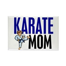Karate Mom (OF BOY) 3 Rectangle Magnet
