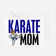 Karate Mom (OF BOY) 3 Greeting Card