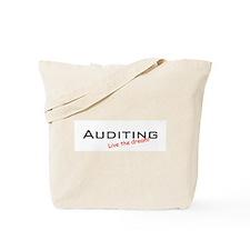 Auditing / Dream! Tote Bag