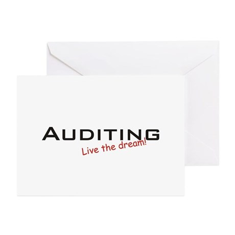 Auditing / Dream! Greeting Cards (Pk of 10)