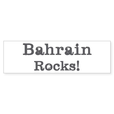 Bahrain rocks Bumper Sticker