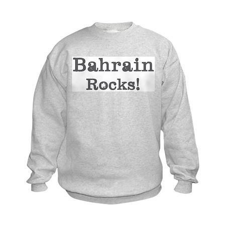 Bahrain rocks Kids Sweatshirt