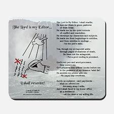 The Lord is My Editor Mousepad wNiagara Falls