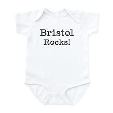 Bristol rocks Infant Bodysuit