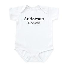 Anderson rocks Infant Bodysuit