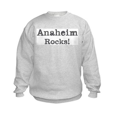Anaheim rocks Kids Sweatshirt