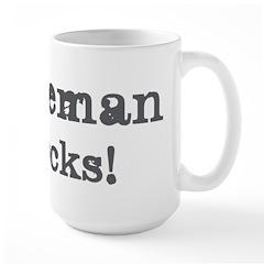 Bozeman rocks Large Mug