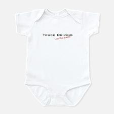 Truck Driving / Dream! Infant Bodysuit
