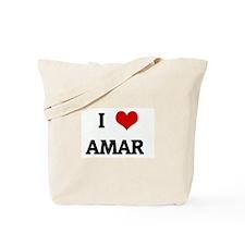 I Love AMAR Tote Bag