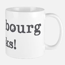 Luxembourg rocks Mug