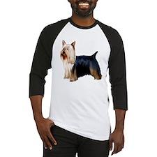 Silky Terrier Portrait Baseball Jersey
