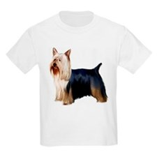 Silky Terrier Portrait Kids T-Shirt