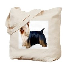 Silky Terrier Portrait Tote Bag