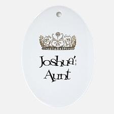 Joshua's Aunt Oval Ornament