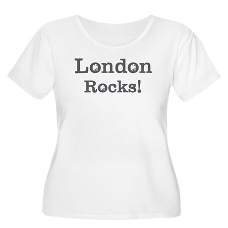 London rocks Women's Plus Size Scoop Neck T-Shirt