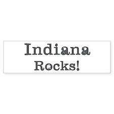Indiana rocks Bumper Sticker (50 pk)