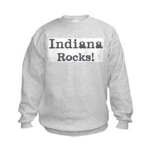 Indiana rocks Sweatshirt