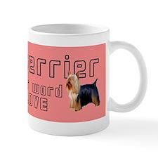 Silky Terrier Love Mug