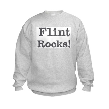 Flint rocks Kids Sweatshirt