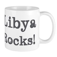 Libya rocks Mug