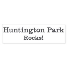 Huntington Park rocks Bumper Bumper Sticker