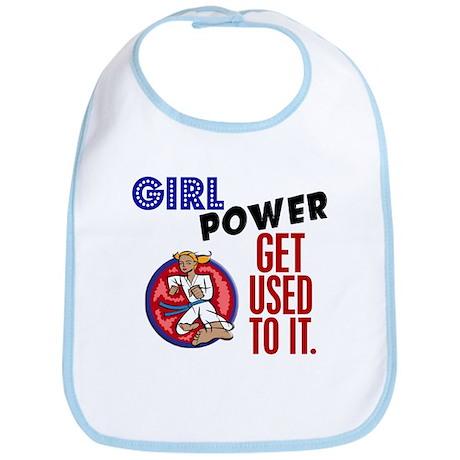 Girl Power 2 Karate Bib
