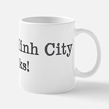 Ho Chi Minh City rocks Mug