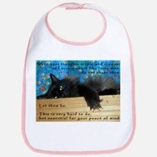 Nibbling Thoughts Black Cat Bib