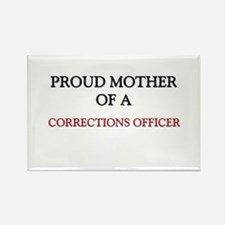 Proud Mother Of A CORRECTIONS OFFICER Rectangle Ma