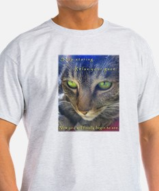 Relax and See Abby Ash Grey T-Shirt