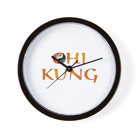 Chi Kung Design Wall Clock