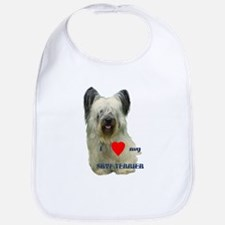 SKYE TERRIER LOVE Bib