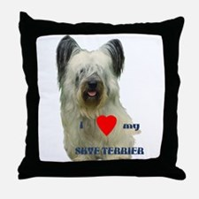 SKYE TERRIER LOVE Throw Pillow