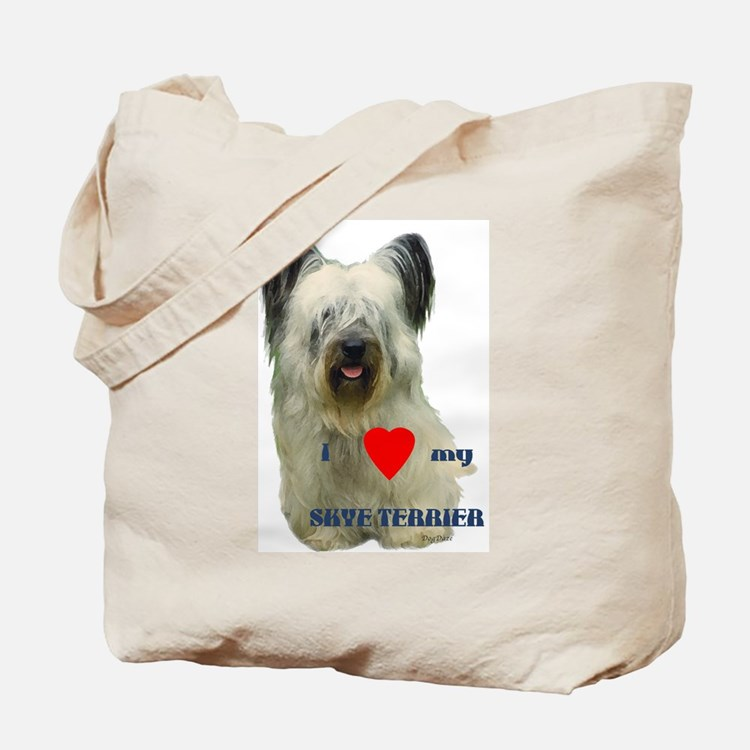 SKYE TERRIER LOVE Tote Bag