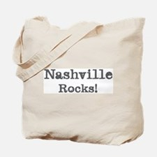 Nashville rocks Tote Bag
