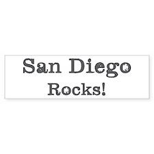 San Diego rocks Bumper Sticker