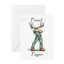 Unique Pagan wicca druid wiccan druidry druidism paganism Greeting Card