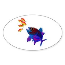 Fast Food Oval Decal