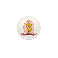 Hungarian Chick Mini Button (10 pack)
