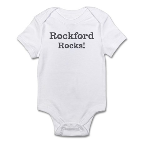Rockford rocks Infant Bodysuit