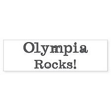 Olympia rocks Bumper Sticker (50 pk)