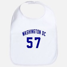 Washington Dc 57 Cotton Baby Bib