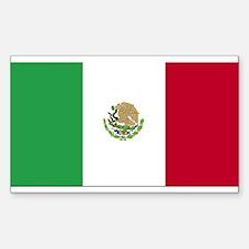 Mexico Rectangle Decal