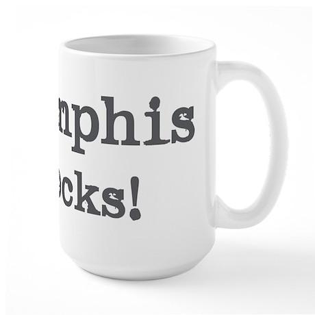 Memphis rocks Large Mug