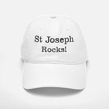 St Joseph rocks Baseball Baseball Cap