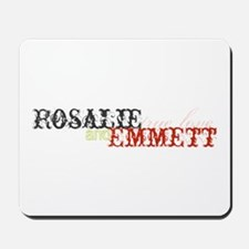 Rosalie and Emmett Mousepad