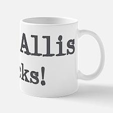 West Allis rocks Mug